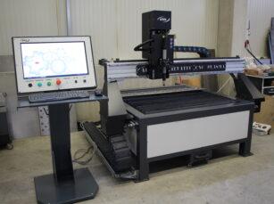 CNC plazma malý stůl nové řešení